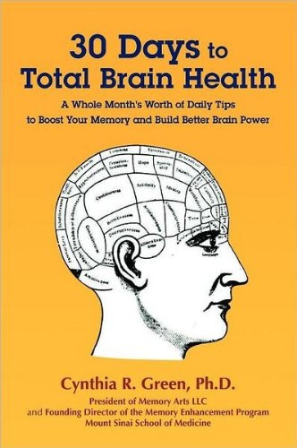 30 days to total brain health book cover